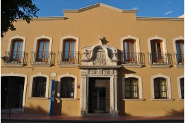 Portada del Palacio de Boleas